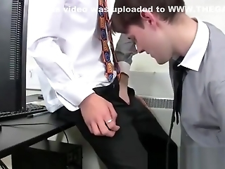 Raw Anal And Sensual Making Out With Twinks In Their Office