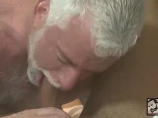 Hot Grandpa Has Passionate Sex With A Handsome Young Male Model