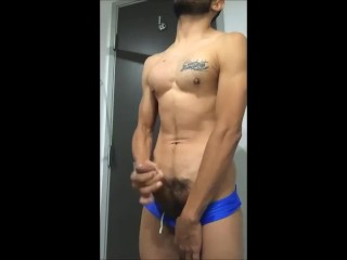 Sexy Boy With A Big Dick Cumming