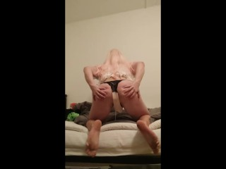 Watch This Sissy Lose Her Virginity And Cum Through Cage