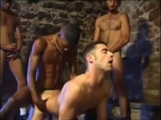 French Slut Gangbanged By Big Dick Blacks